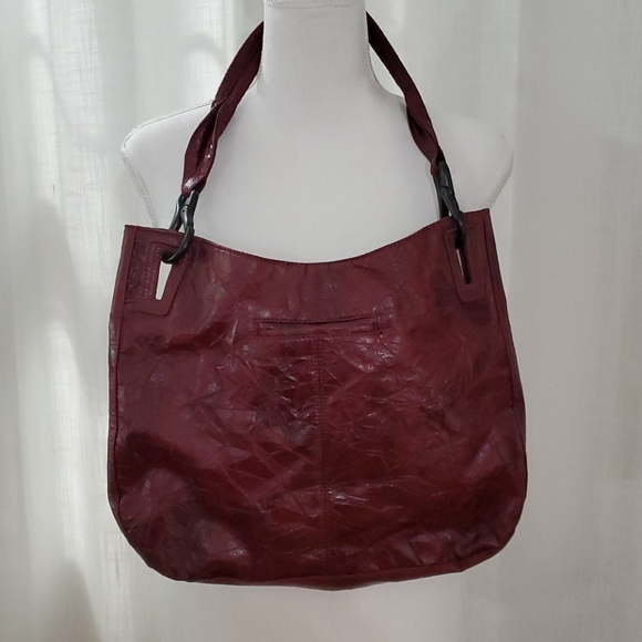 Matt & Nat Handbags - Matt & Nat hobo vegan purse maroon eco friendly